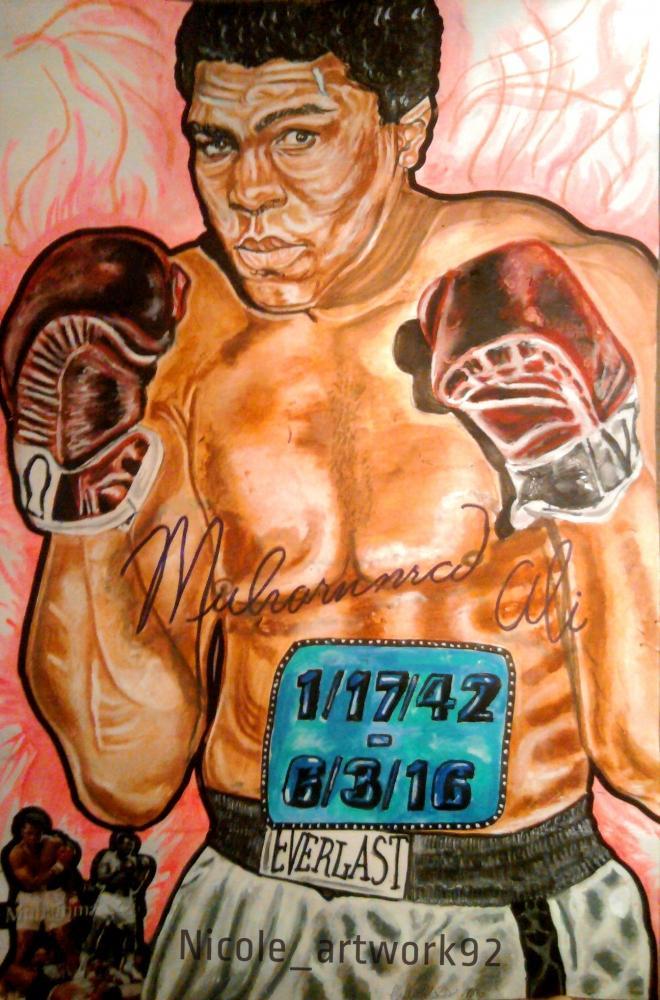 Muhammad Ali by NicoleBoo